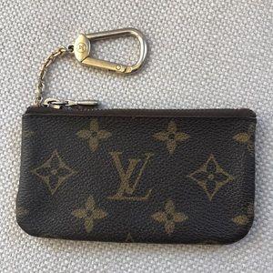 Louis Vuitton Zip Pouch Key Chain